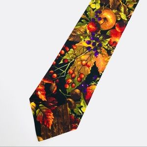 Other - Handmade Autumn Fruit Holiday Tie Homemade